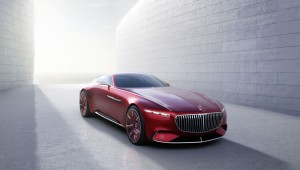 Елегантният ретро лукс на Vision Mercedes-Maybach 6