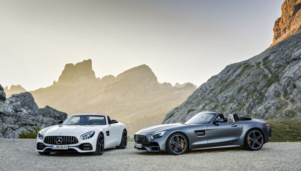 AMG GT Roadster и AMG GT C Roadster (2016)