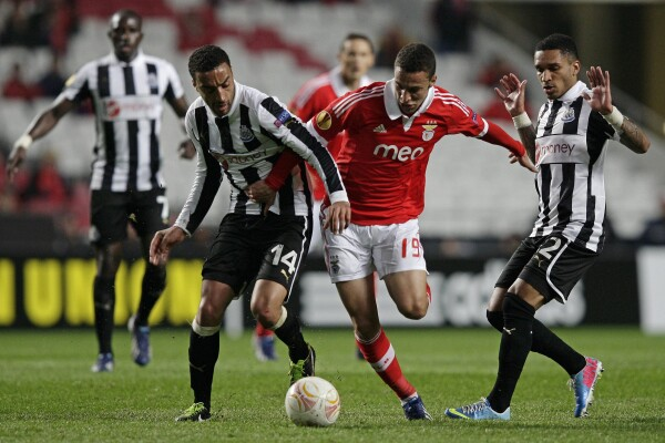 Newcastle 1-1 Benfica