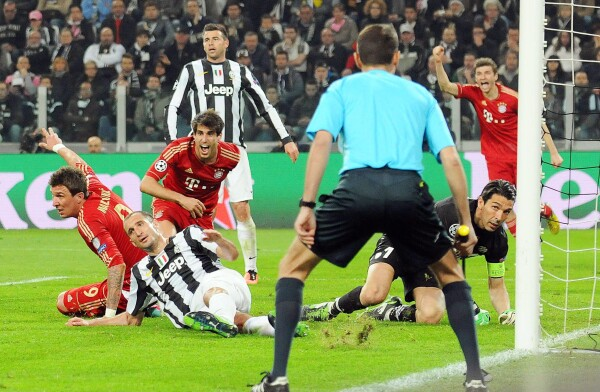 Juventus 0-2 Bayern Munich