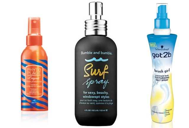 Phyto Plage Protective Sun Oil, Bumble and Bumble Surf Spray, Schwarzkopf got2b Beach Matt