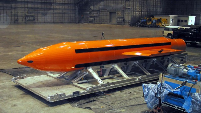 Mother of all bombs, MOAB