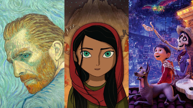 Loving Vincent / The Breadwinner / Coco